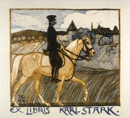 bookplate for Karl Stark
