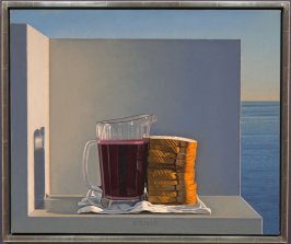 Still Life with Grape Juice and Sandwiches (Xenia)