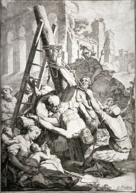 The Crucixion of St. Peter