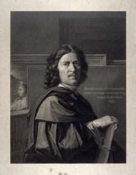 Portrait of Nicolas Poussin