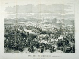 Bataille de Solferino published in Le Monde Illustré