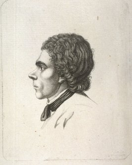 Head of a Man (in Profile)