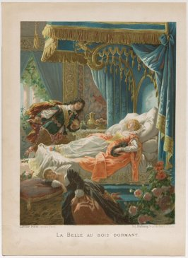 La Belle Au Bois Dormant (One of Four Illustrations to Fairy Tales by Charles Perrault)