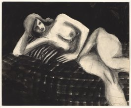 Untitled (Reclining Model)
