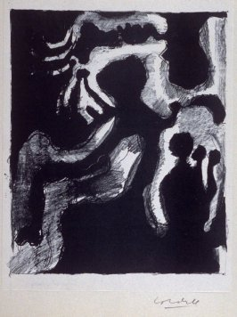 """Untitled (third print in """"Drawings"""")"""
