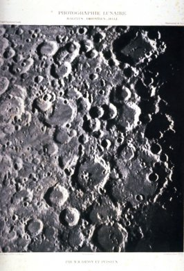 Surface of the Moon: Maginus, Orontius, Hell, March 4