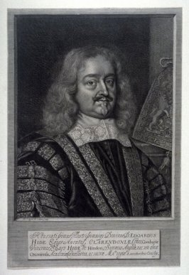 Portrait of Edward Hyde, Earl of Clarendon