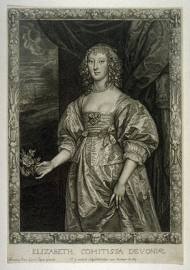 Portrait of Elizabeth, Countess of Devon