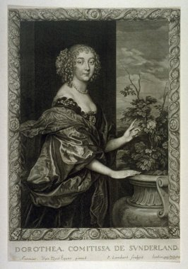 Portrait of Dorothy, Countess of Sutherland