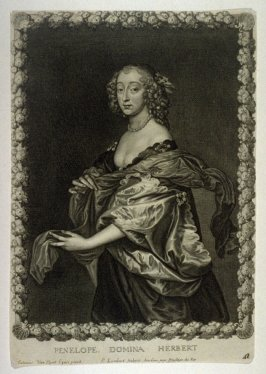 Portrait of Penelope Lady Herbert