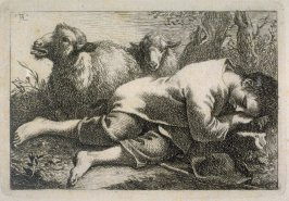pl. 3 from a set of etchings of Animals and Peasants