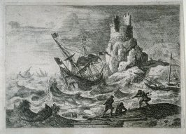 Le Dessinateur (Coast Scene with an Artist) WRONG IMAGE
