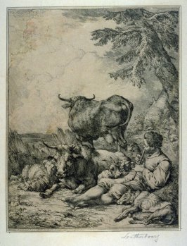 One of Three etchings of animal pictures