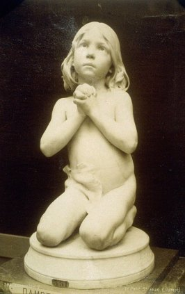 Photograph of Le Petit St. Jean (Little St.John) - by the sculptor Jean Auguste Dampt (French, 1853-1946), from the Musée du LuxembourgA056633