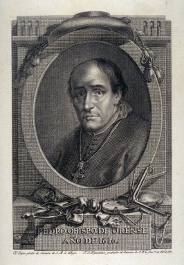 Pedro Obispo de Orense/ Año de 1810 (Peter, Bishop of Orense in 1810)