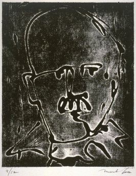One in a Portfolio of thirty portraits of Scientists : Rutherford