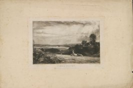 Plate 6: Summer Morning, from the series 'English Landscape Scenery' (London, Constable, 1830-2)