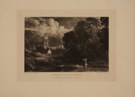 Plate 16: Stoke by Neyland, Suffolk, from the series 'English Landscape Scenery' (London, Constable, 1830-2)