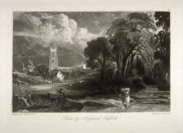 Stoke by Neyland, Suffolk, from the series 'Various Subjects of Landscape, Characteristic of English Scenery' (London: John Constable, 1830-[1832])