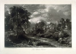 The Glebe Farm, from the series 'Various Subjects of Landscape, Characteristic of English Scenery' (London: John Constable, 1830-[1832])