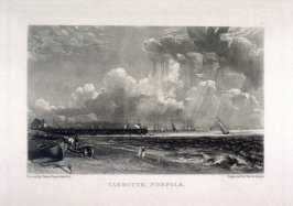 Yarmouth, Norfolk, from the series 'Various Subjects of Landscape, Characteristic of English Scenery' (London: John Constable, 1830-[1832])
