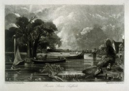 River Stour, Suffolk, from the album 'Various Subjects of Landscape, Characteristic of English Scenery' (London: John Constable, 1830-[1832])