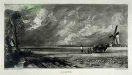 Spring, from the album 'Various Subjects of Landscape, Characteristic of English Scenery' (London: John Constable, 1830-[1832])