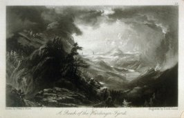 A Reach of the hardanger Fjord