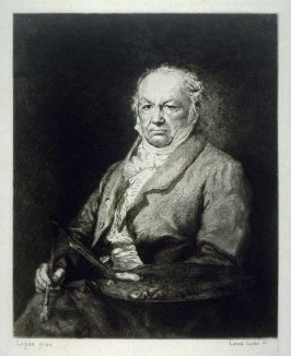 Portrait of Goya