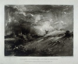 Plate 19: Summer Afternoon—After a Shower, from the album 'Various Subjects of Landscape, Characteristic of English Scenery' (London: John Constable, 1830-[1832])