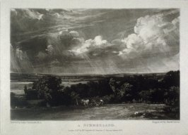 Plate 15: A Summerland, from the album 'Various Subjects of Landscape, Characteristic of English Scenery' (London: John Constable, 1830-[1832])