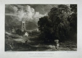 Plate 16: Stoke by Neyland, Suffolk, from the album 'Various Subjects of Landscape, Characteristic of English Scenery' (London: John Constable, 1830-[1832])