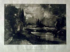 Plate 17: A Mill, from the album 'Various Subjects of Landscape, Characteristic of English Scenery' (London: John Constable, 1830-[1832])