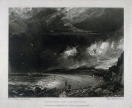 Plate 18: Weymouth Bay, Dorsetshire, from the album 'Various Subjects of Landscape, Characteristic of English Scenery' (London: John Constable, 1830-[1832])