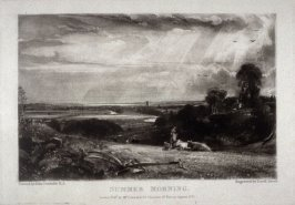 Plate 6: Summer Morning, from the album 'Various Subjects of Landscape, Characteristic of English Scenery' (London: John Constable, 1830-[1832])