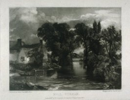 Plate 5: Mill Stream, from the album 'Various Subjects of Landscape, Characteristic of English Scenery' (London: John Constable, 1830-[1832])