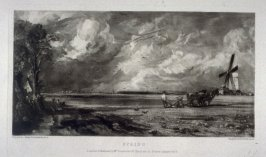 Plate 2: Spring, from the album 'Various Subjects of Landscape, Characteristic of English Scenery' (London: John Constable, 1830-[1832])