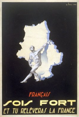 Design for Vichy French Government Poster