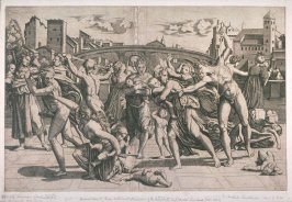 "Reverse copy of Marc Antonio's ""Massacre of the Innocents"""
