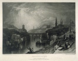 Plate 2: Newcastle on Tyne, from the series 'The Rivers of England'