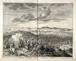 The Siege of the City of Bergen of Soom (op Zoom) in the year 1588 - Pl.29 from: Netherlands 1566-1672