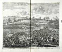 The Battle of Turnhout, in the year 1592 - Pl.36 from: Netherlands 1566-1672