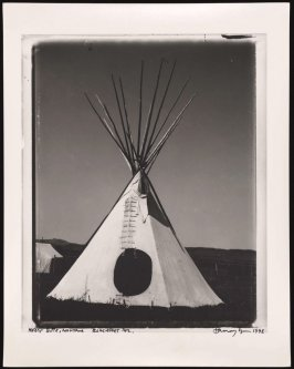 Tipi, Black Feet Reservation, Heart Butte, Montana