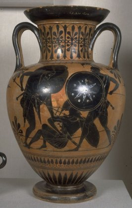 Black-Figure Neck Amphora