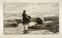 The Bait Gatherers, plate 1 in the book, The Etcher (London: Williams and Norgate, 1879), vol. 1