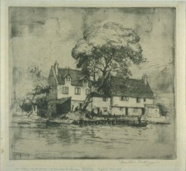 Old Cottages by the River
