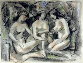 [Three Female Nudes]