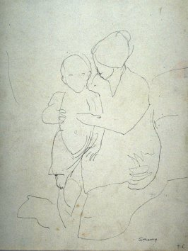 Study : mother and child