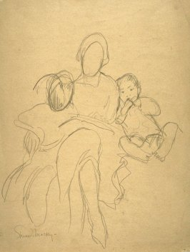 study - mother and children