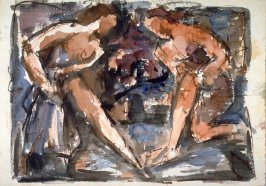 Study : two nude females